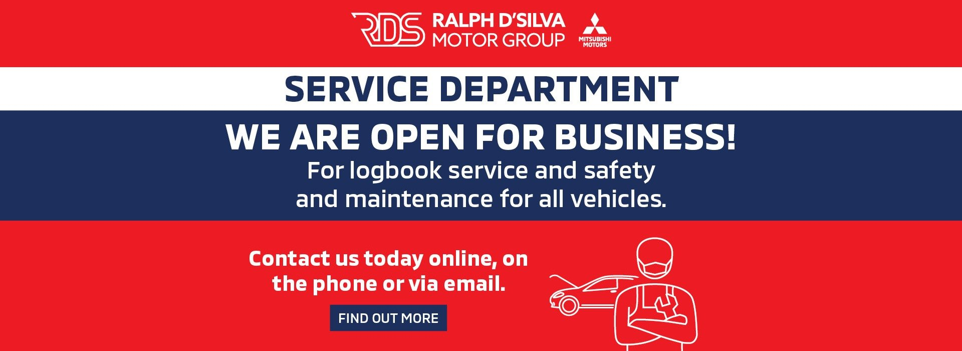 We Are Open - Service