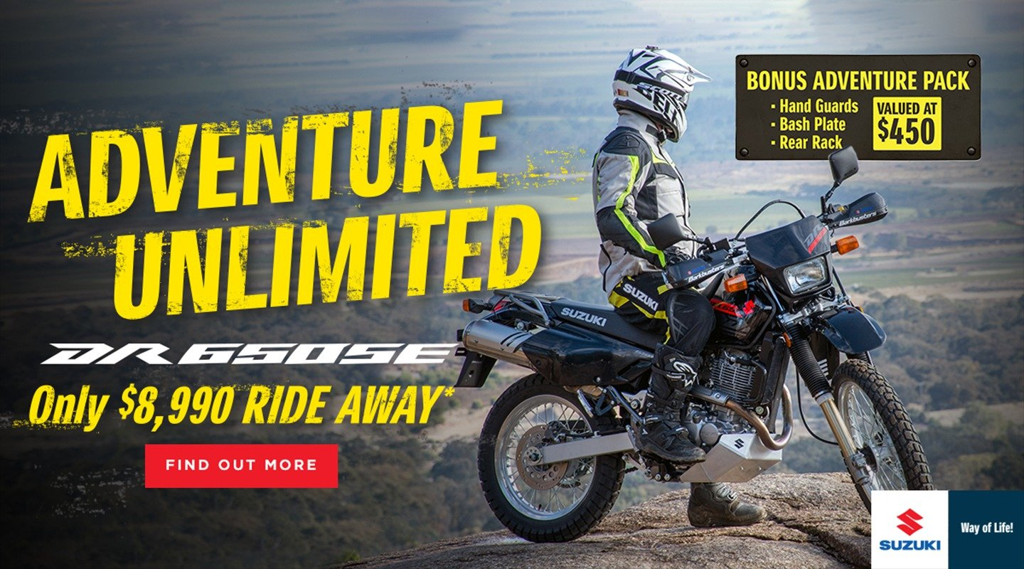 dr650se adventure unlimited banner