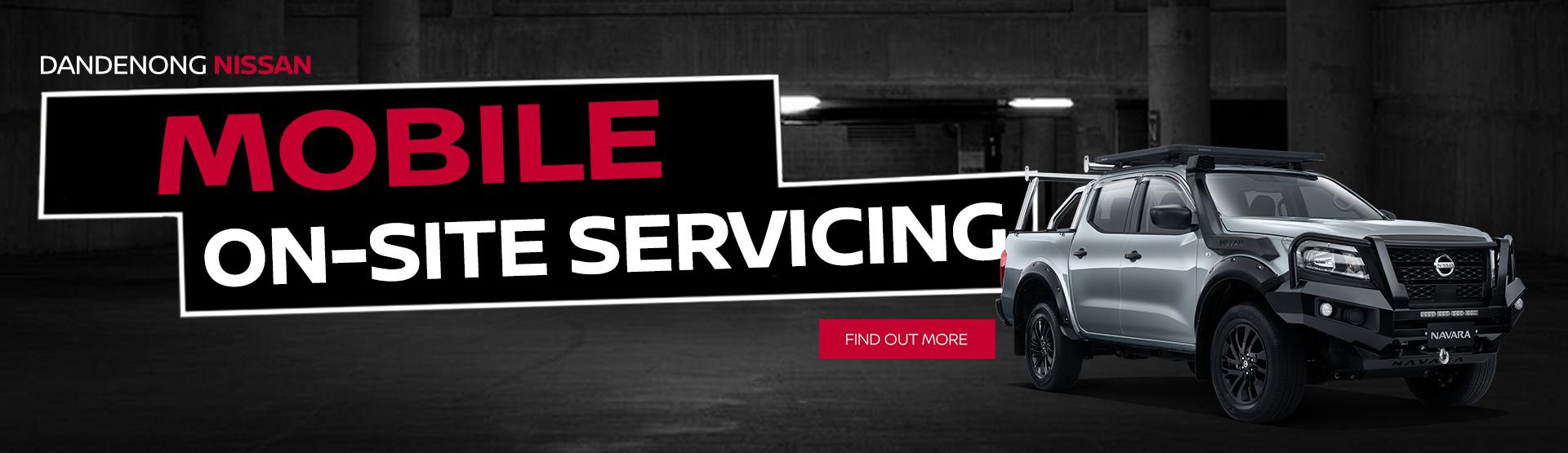 Mobile Onsite Service Van