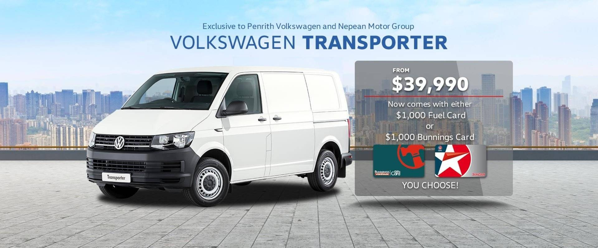 Transporter - $1,000 Gift Card Included