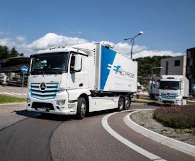 Mercedes-Benz eActros image