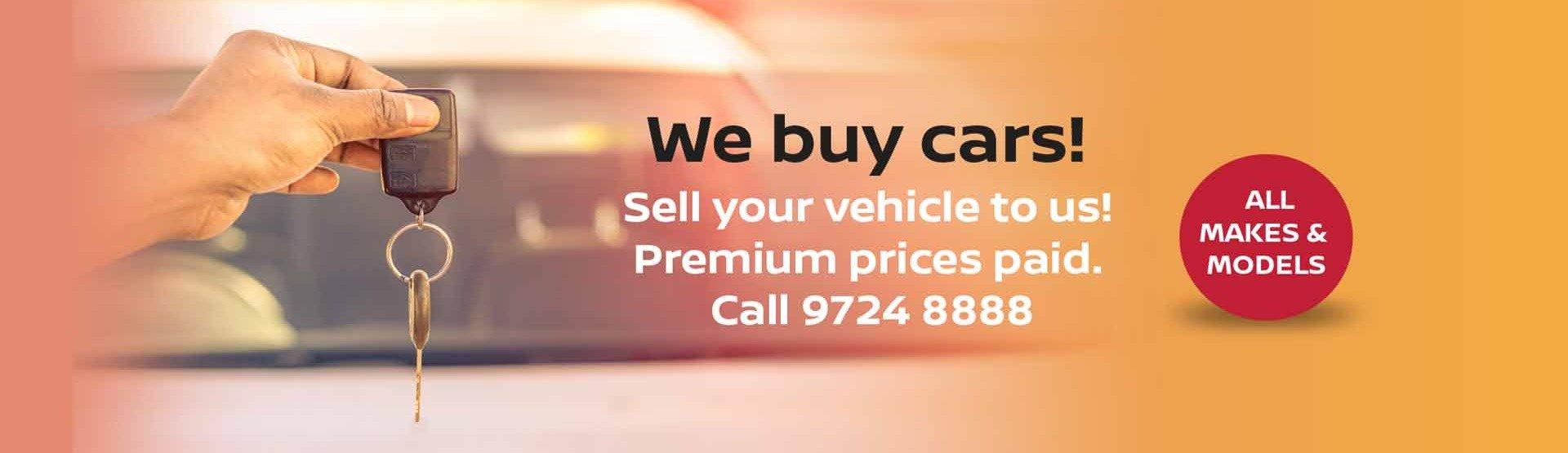 FTG Nissan We Buy Cars