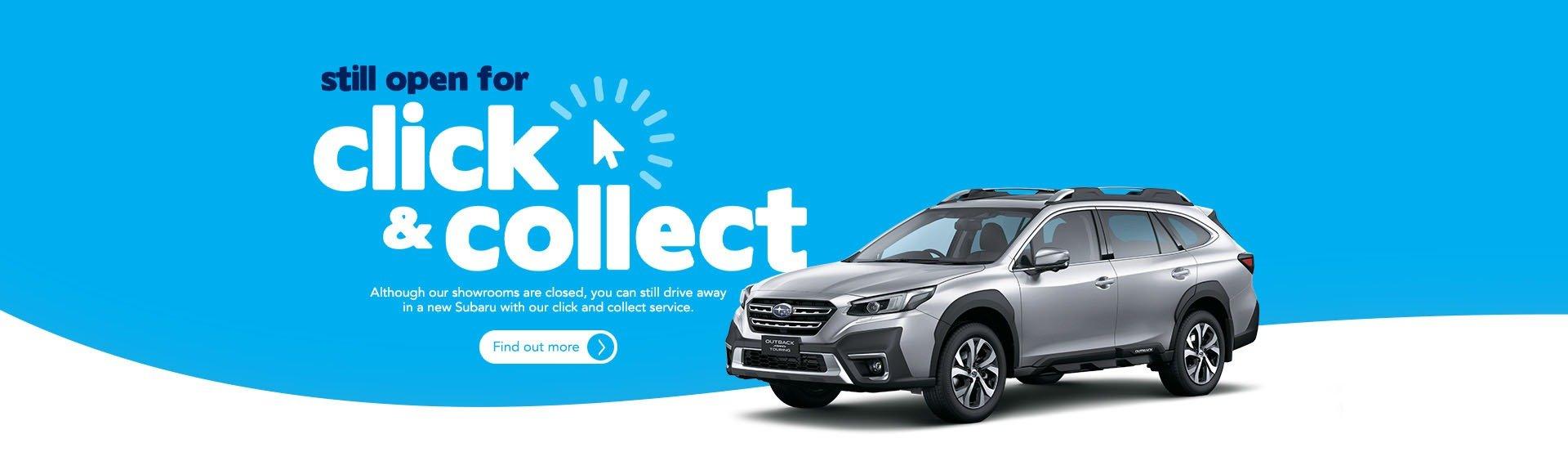 Subaru Canberra - Click & Collect