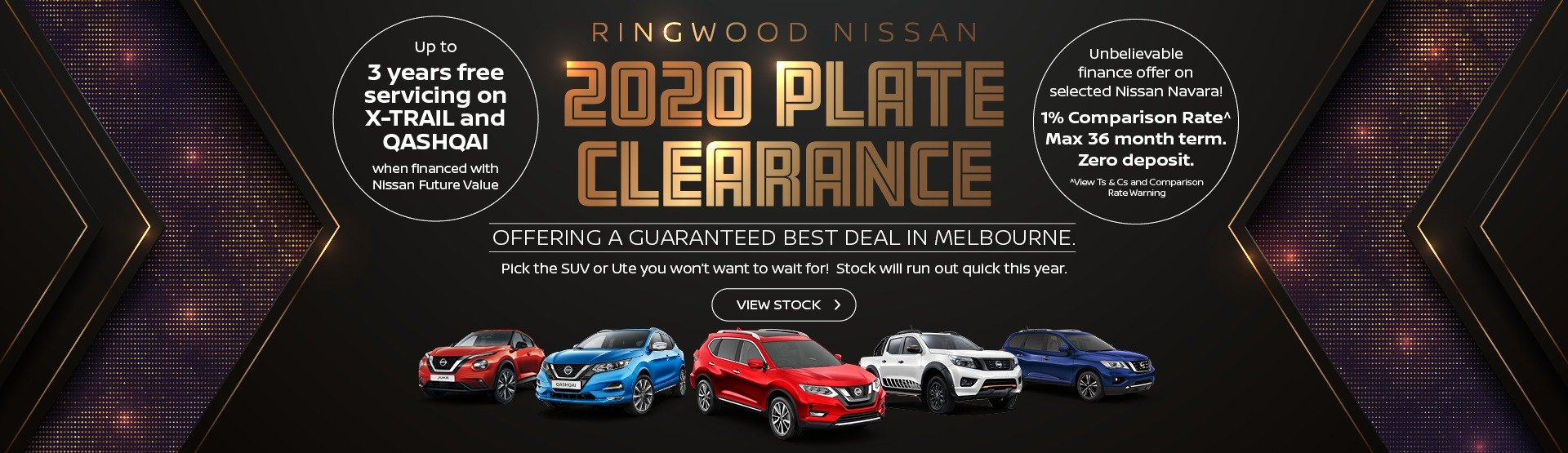 Ringwood Nissan 2020 Plate Clearance