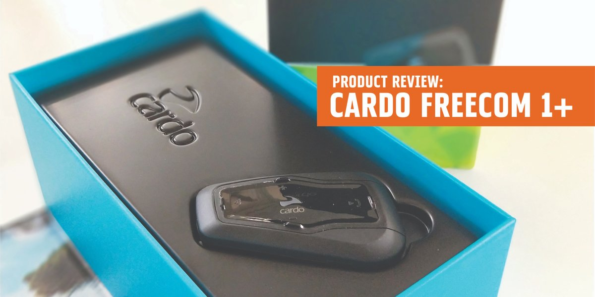 blog large image - Product Review - Cardo Freecom 1+