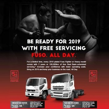 Be Ready for 2019 - With FREE SERVICING on every Fighter & Heavy  Small Image
