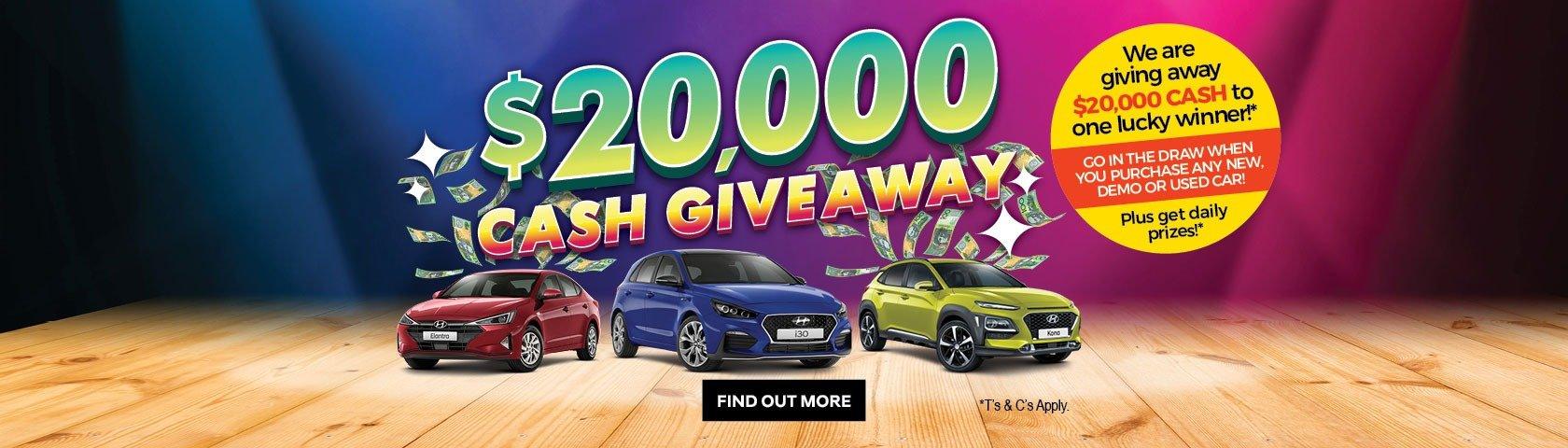 Ralph D'Silva Hyundai 20K Giveaway