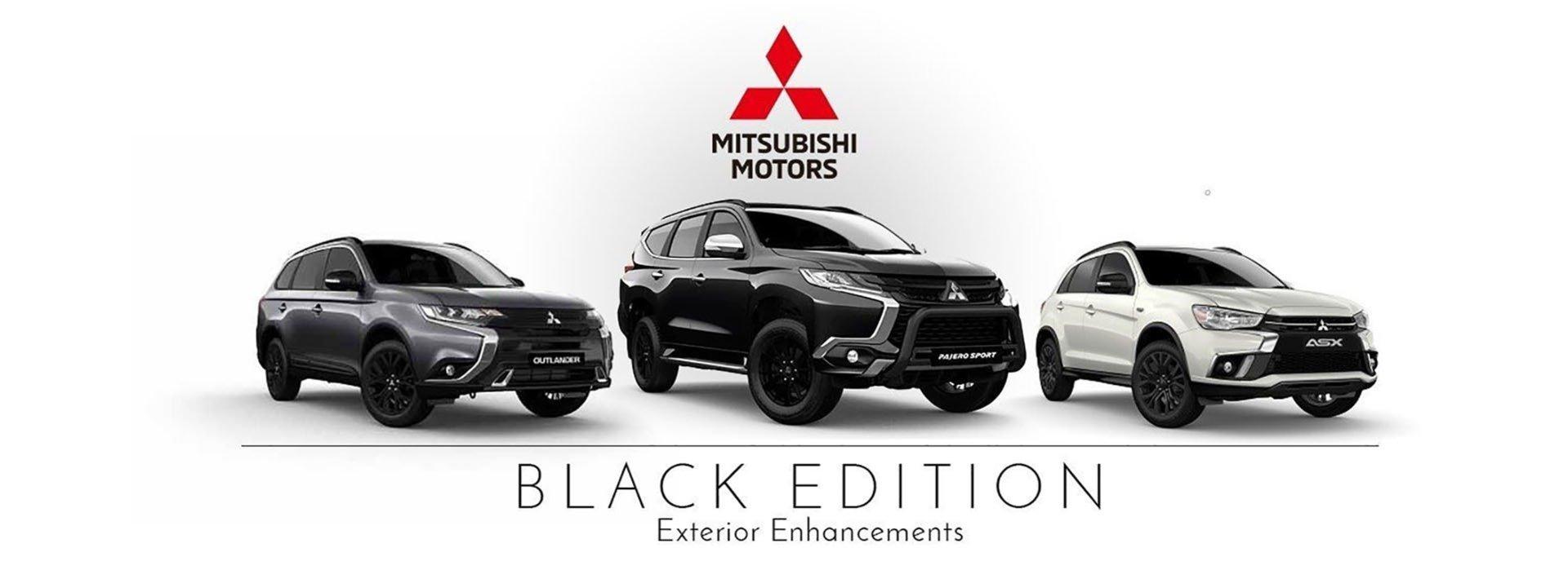 Mitsubishi Black Edition ASX Pajero Outlander Heritage Motors Maitland Newcastle Hunter