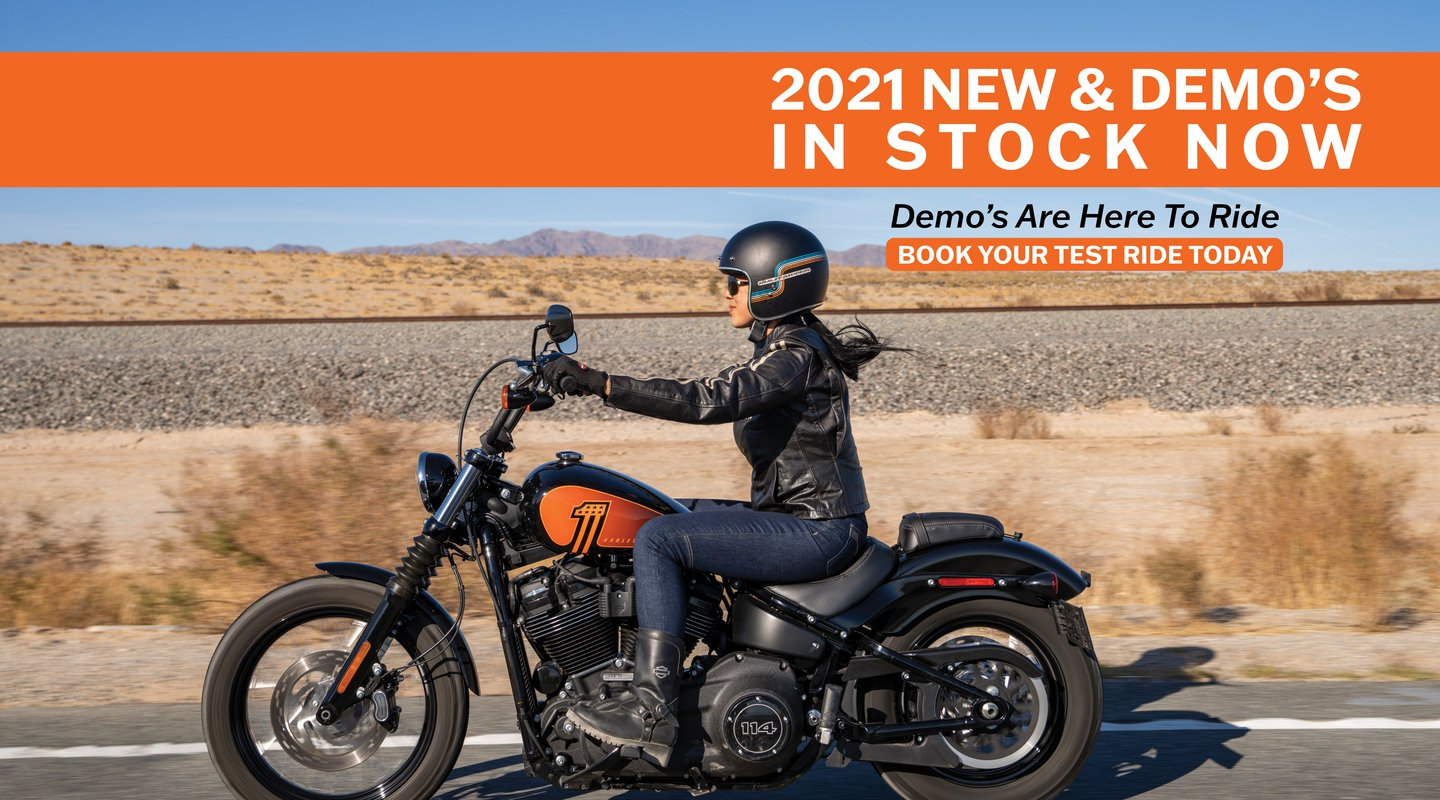2021 New & Demos In Stock Now