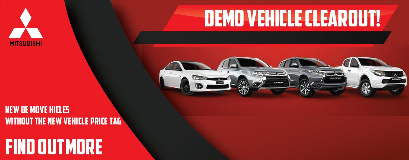 Mitsubishi Demo Vehicles Heritage Motors Maitland Newcastle Hunter Region