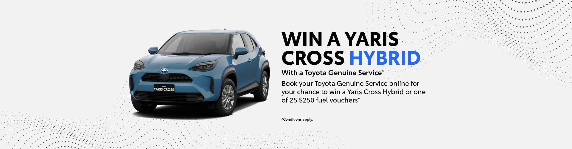 Mansfield Toyota - Win a Yaris Cross