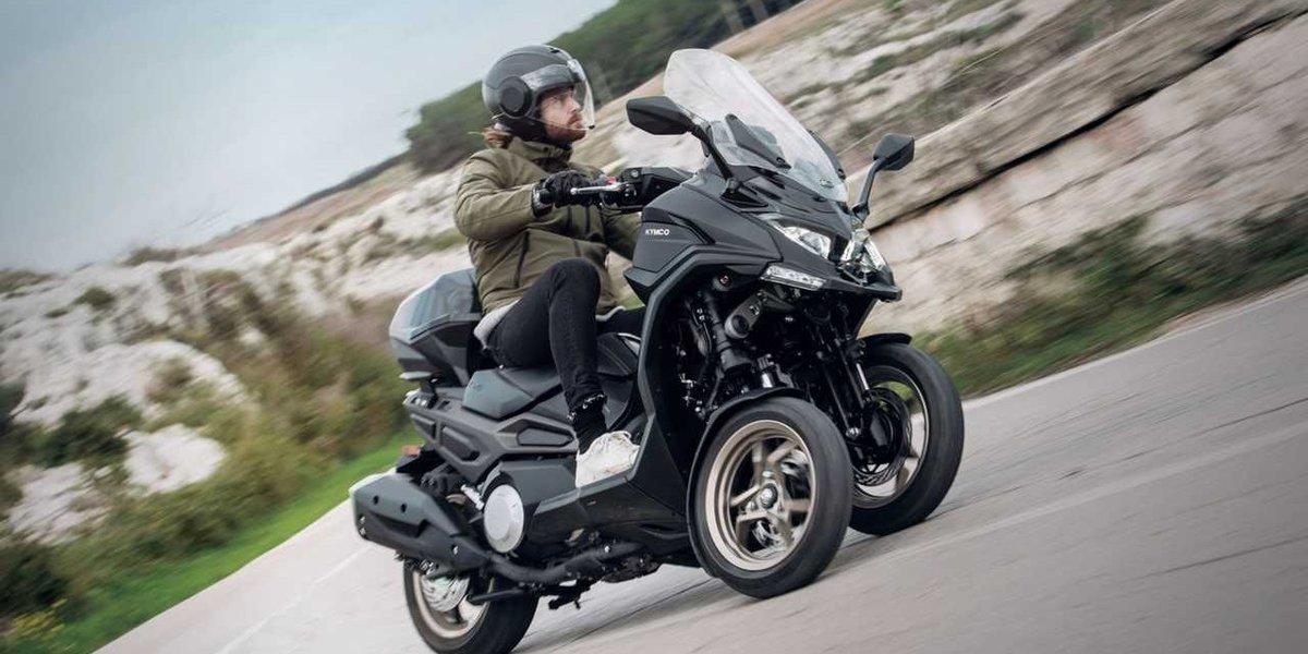 blog large image - KYMCO CV3 - A 3 Wheeled Tourer