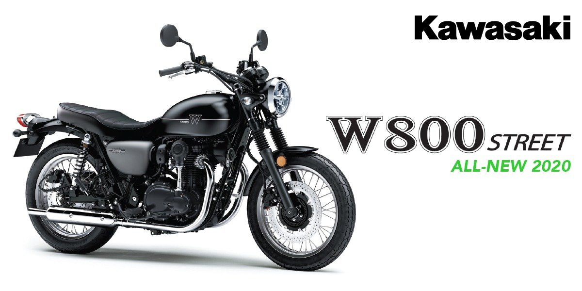 blog large image - 2020 W800 Street Available in AUS Now!