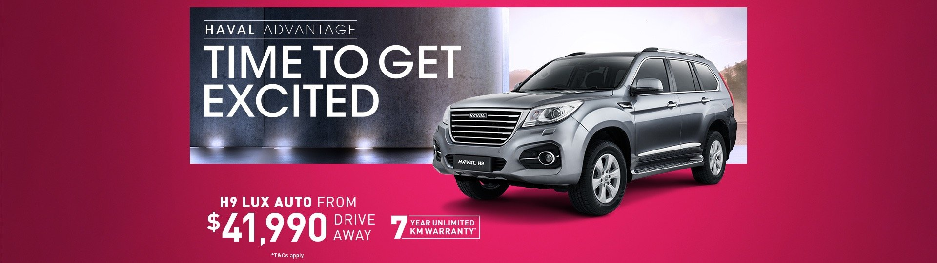 Haval H9 from $41,990 driveaway