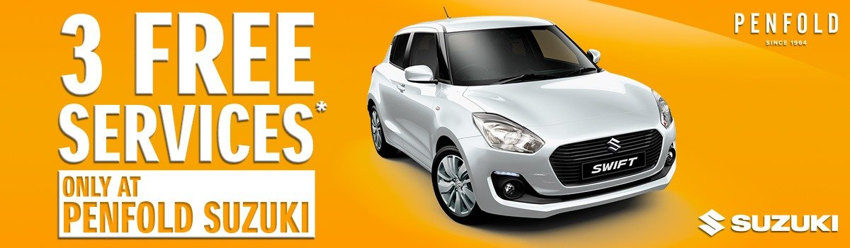3 Free Services With The Purchase Of Any New Suzuki* Large Image