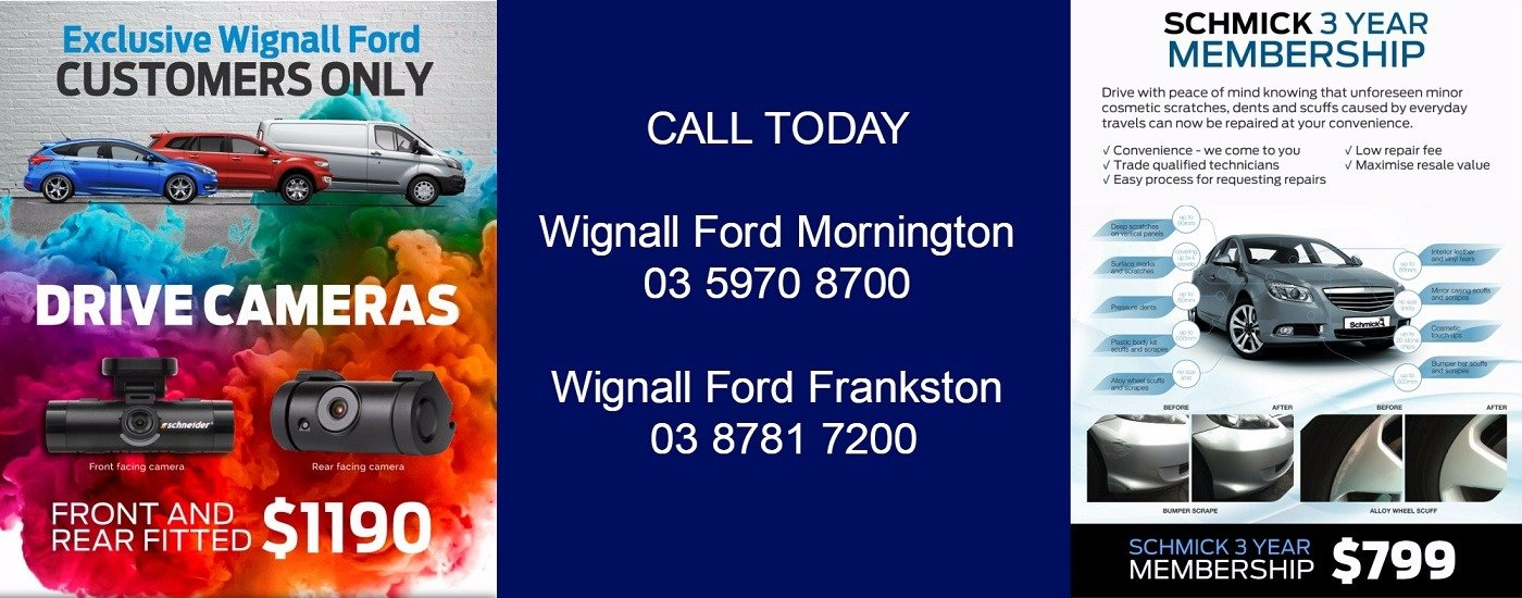 Exclusive Wignall Ford Customers Only
