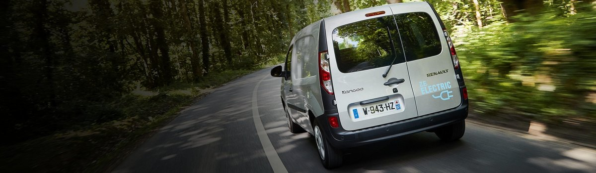 Test drive Renault Kangoo Electric Vehicles Large Image