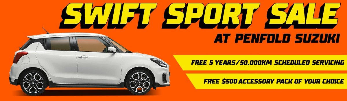 Swift Sport Sale only at Penfold Suzuki! Large Image