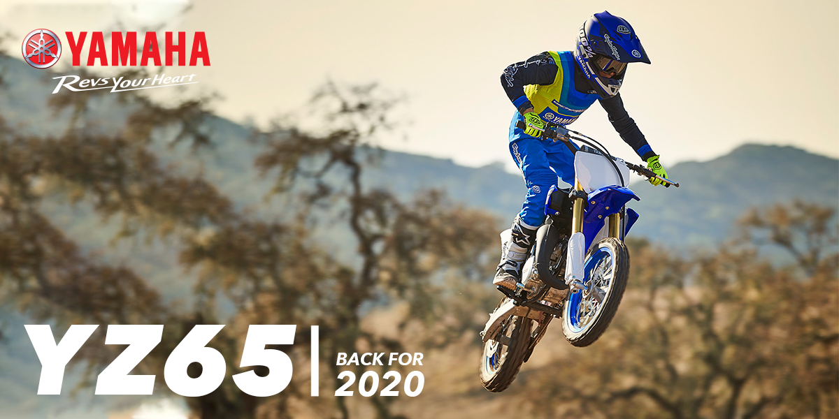 blog large image - YZ65 is back for 2020!