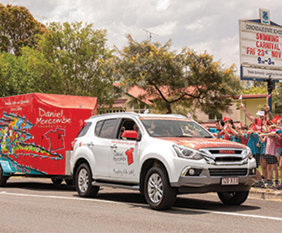 Isuzu Drives Support for 'Day for Daniel' image