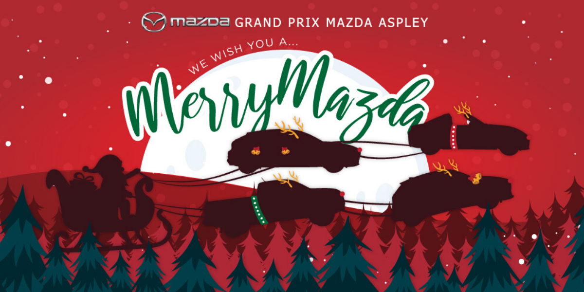blog large image - Christmas Deals 2019 at Grand Prix Mazda Aspley