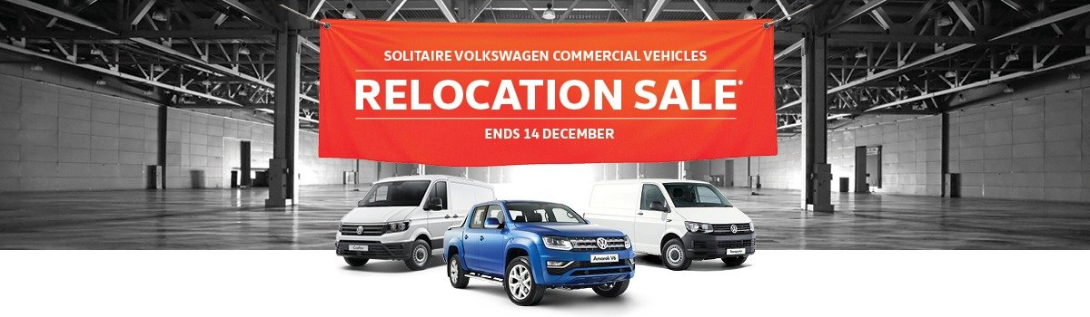 SOLITAIRE VOLKSWAGEN COMMERCIAL VEHICLES - RELOCATION SALE* Large Image