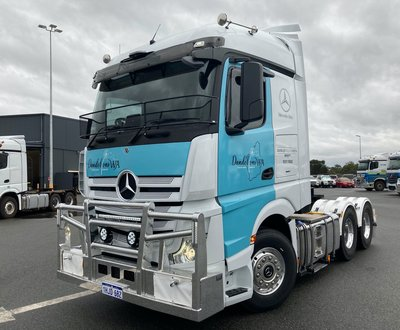 Daimler Trucks Perth to support charity Dandelions WA in their quest to help those in need.  image