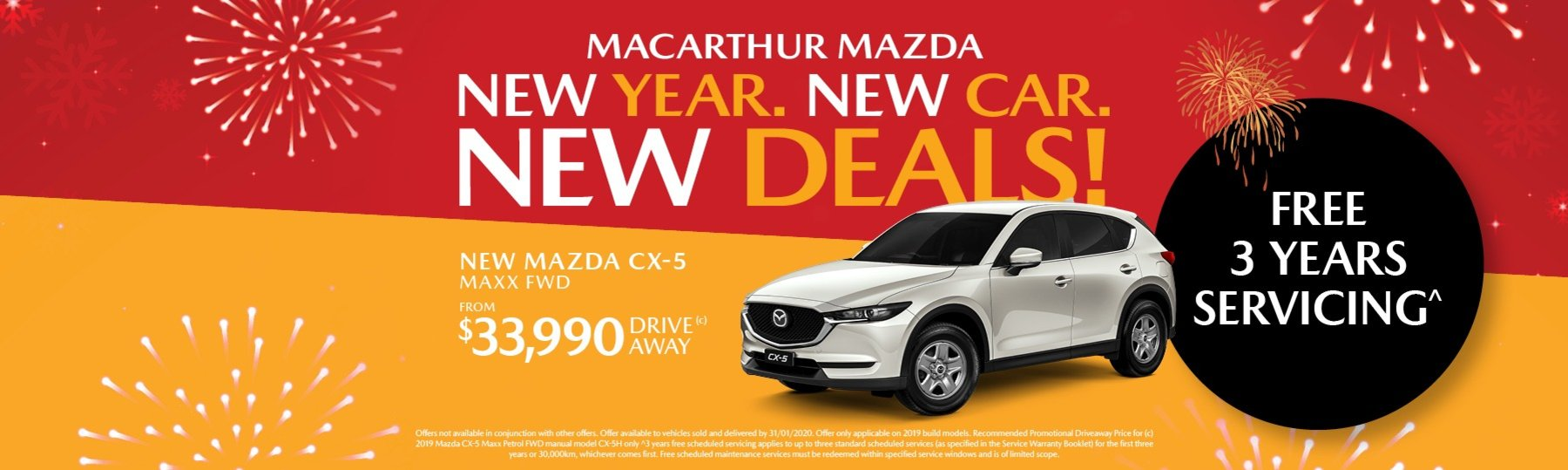 New Year. New Car. New Deals!