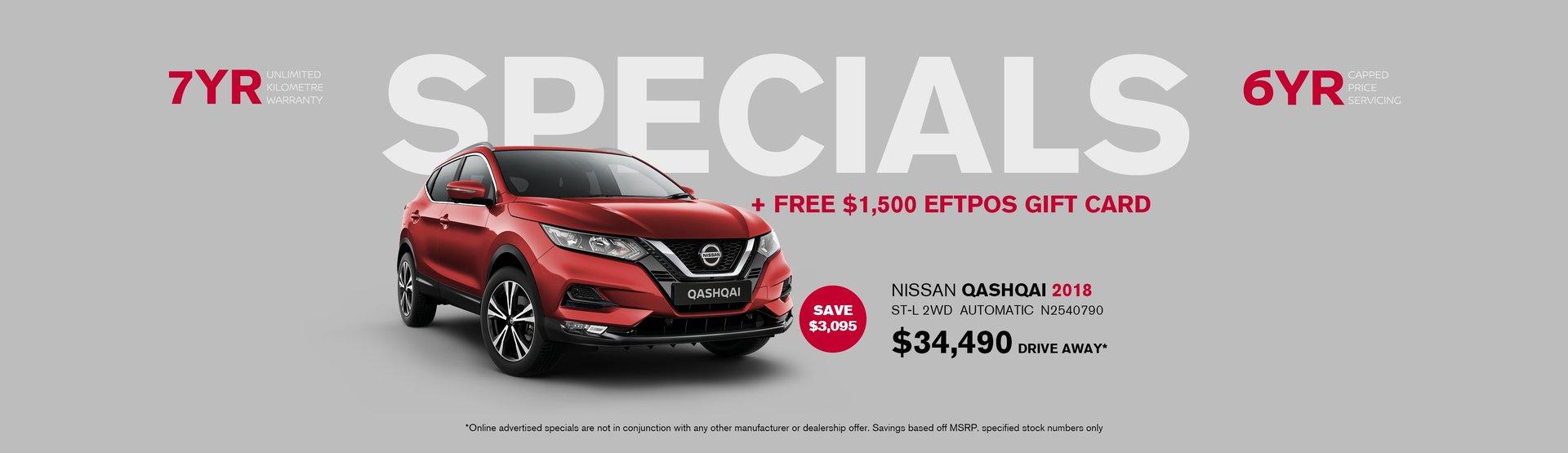 Nissan Qashqai special