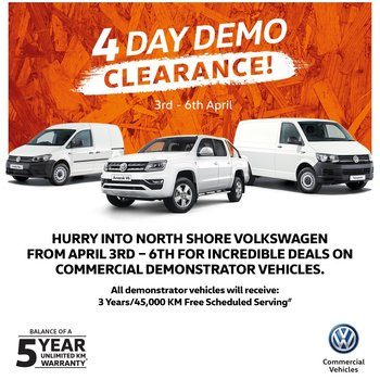 4 Day Demo Clearance Small Image