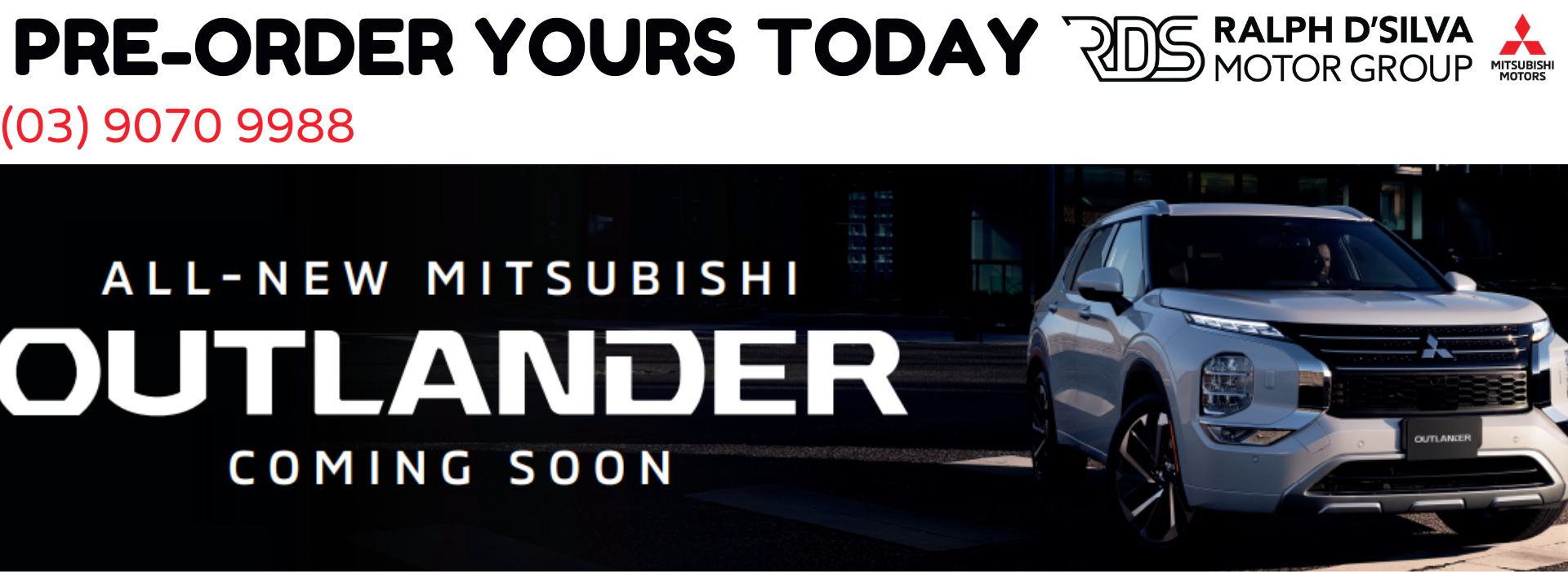 Pre order your new outlander today