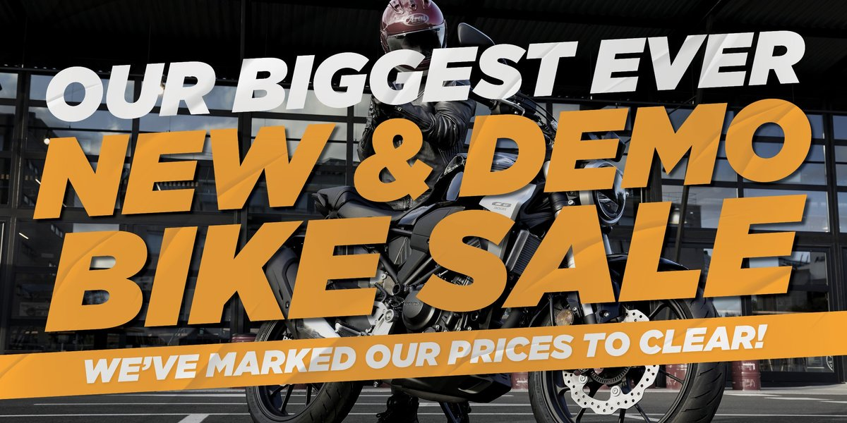 blog large image - Our Biggest Ever New and Demo Bike Sale