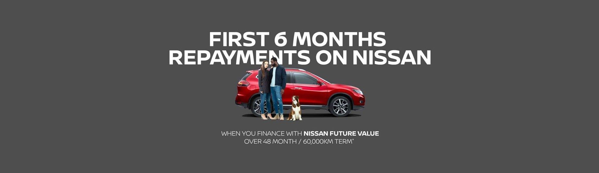 Nissan 6 Month Repayments