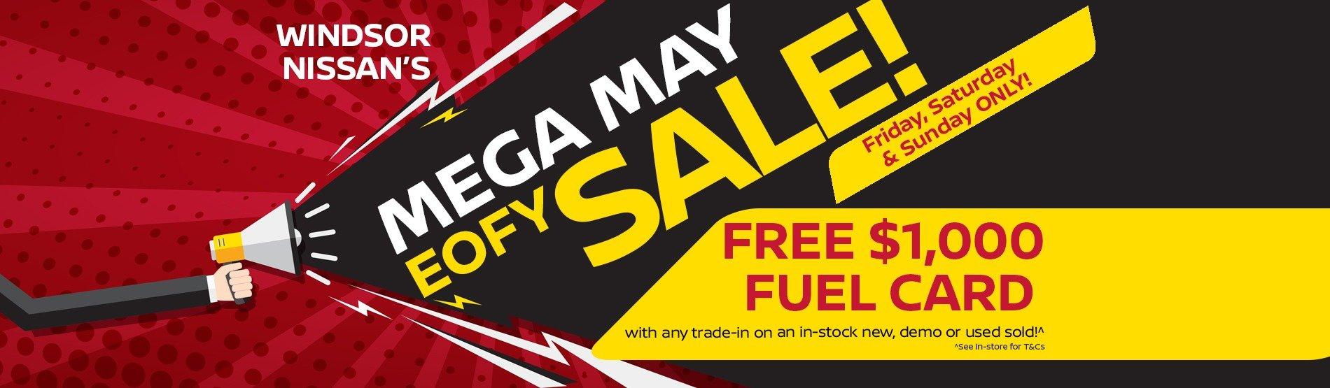 Windsor Nissan EOFY Sale!