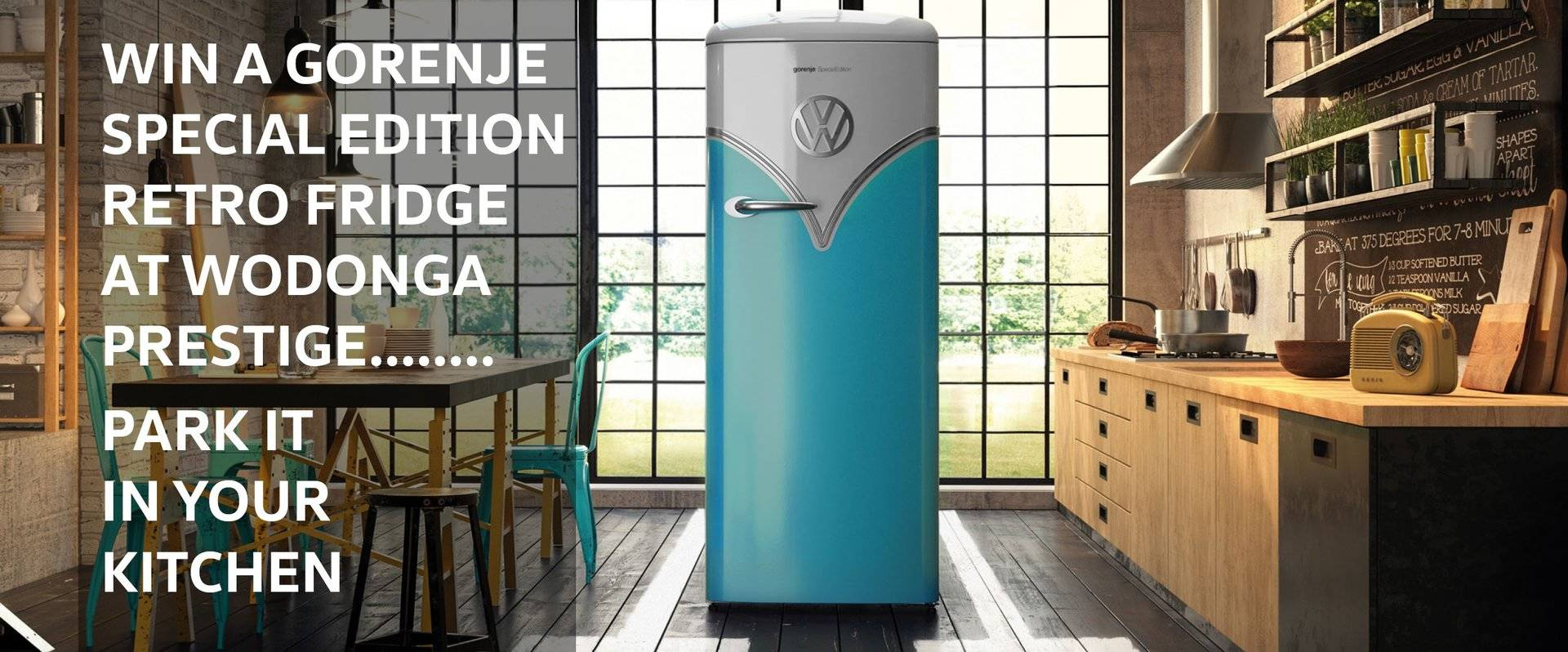 GORENJE SPECIAL EDITION RETRO FRIDGE