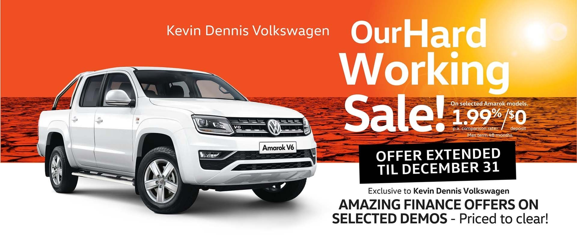 Kevin Dennis VW - Our Hard Working Sale