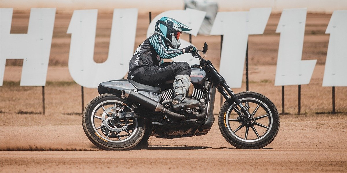 blog large image - The Harley flat track scene is picking up here in Australia!