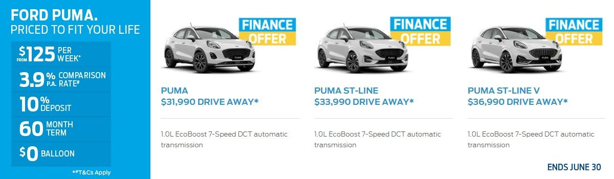 Ford Special Offers - Puma Large Image
