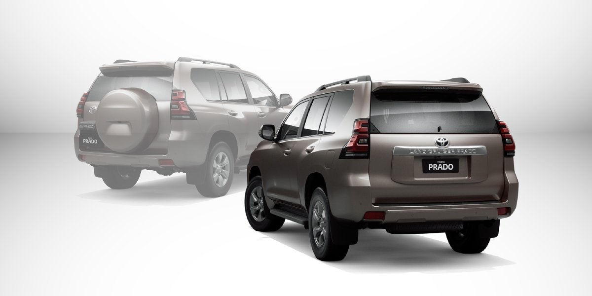 blog large image - Toyota Prado now available with a flat tailgate!