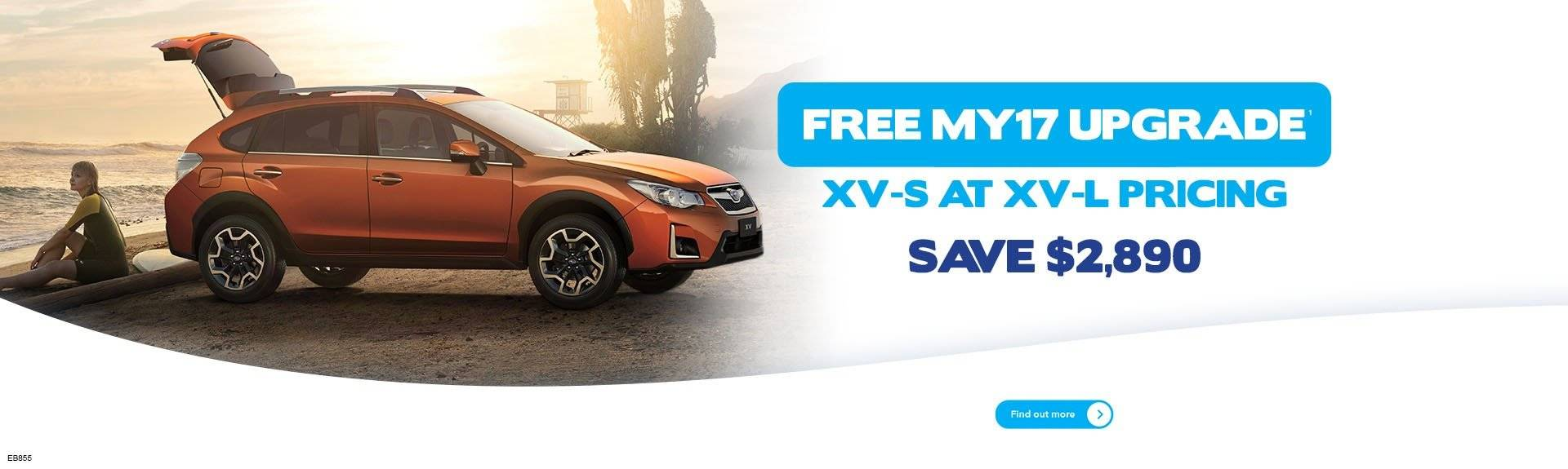 Subaru XV MY17 Upgrade Offer