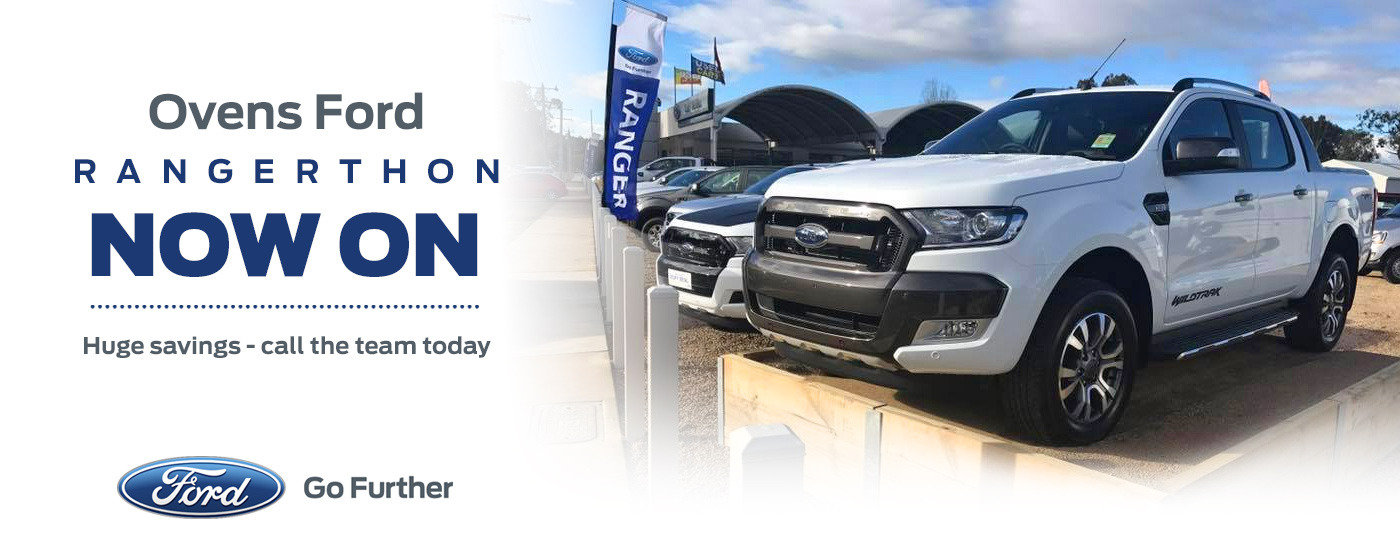 Ovens Ford Rangerthon - Now On