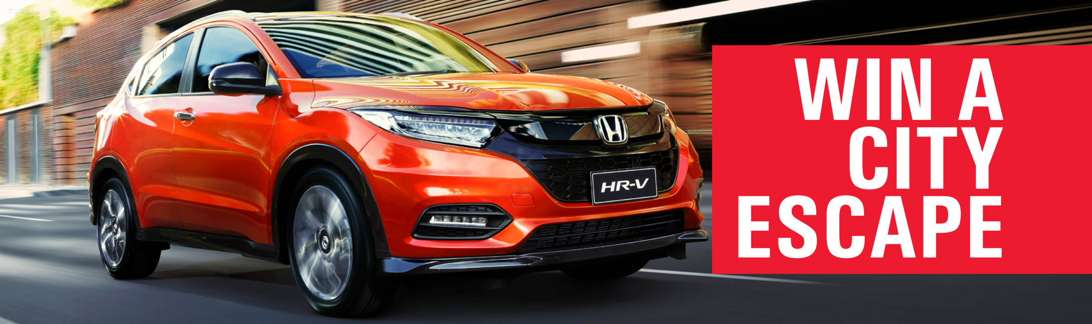 Test drive new HR-V to win!