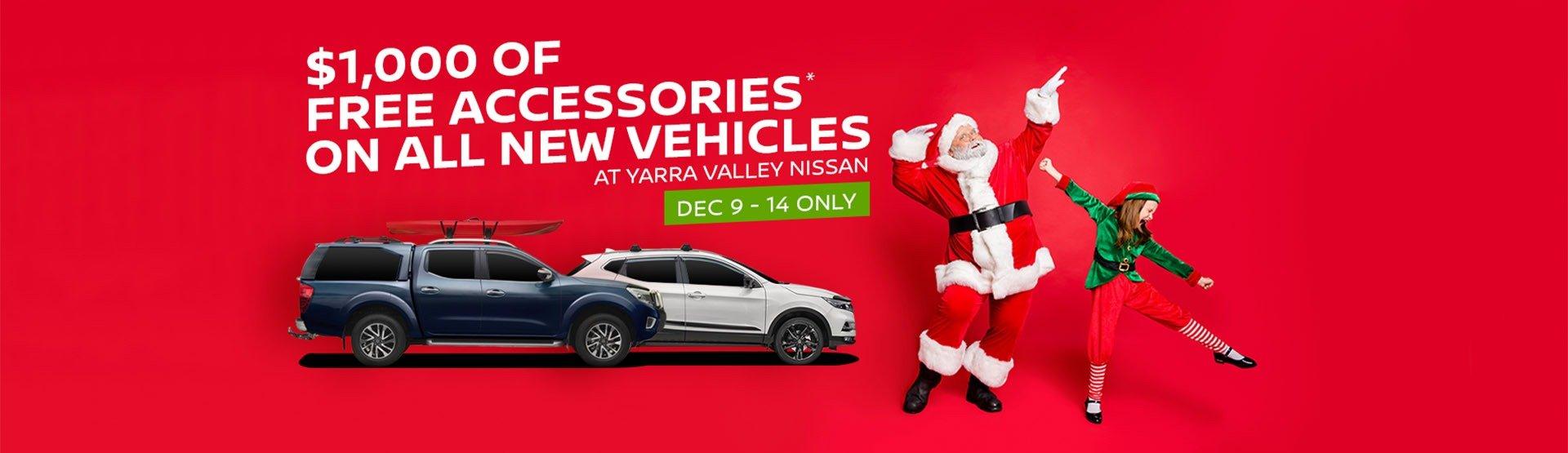 Yarra Valley Nissan | Accessories Sale