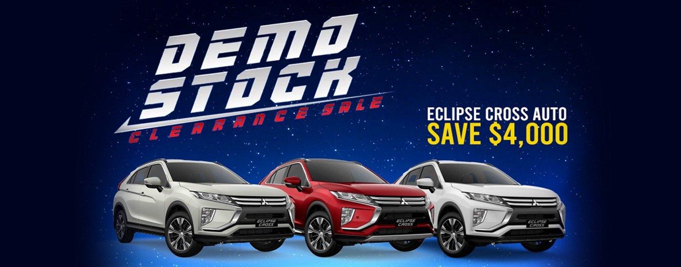 National Capital Mitsubishi Demo Stock