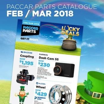 PACCAR Parts Catalogue Feb - Mar 2018 Small Image