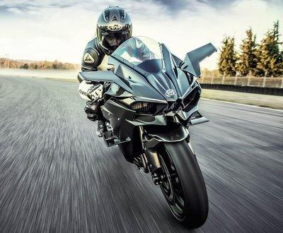 Kawasaki's Supercharged Hypersport H2 image