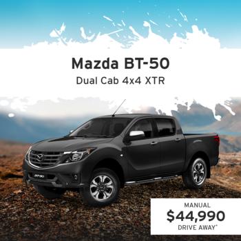 Mazda BT-50 Dual Cab 4x4 XTR Small Image