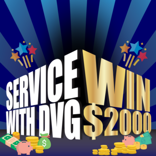Service to be in with the chance to WIN