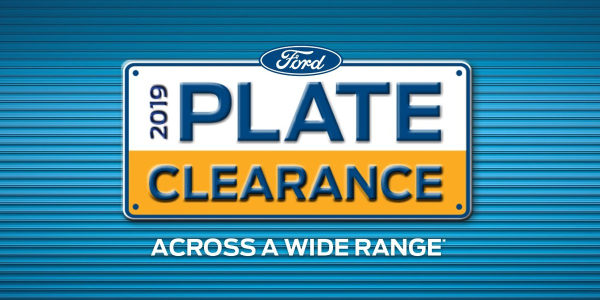blog large image - 2019 Plate Clearance is now on!