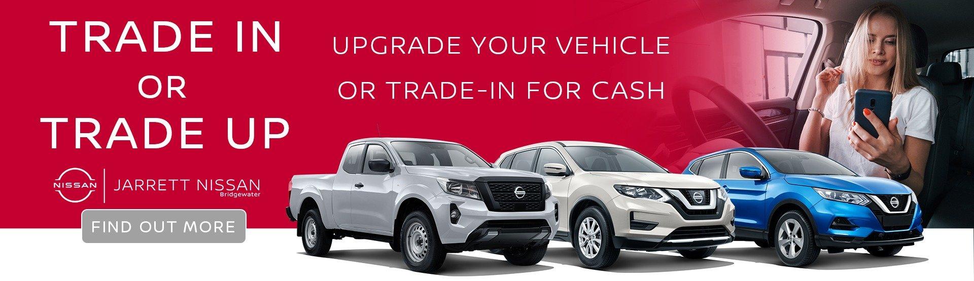 Trade-In Value at Jarrett Nissan